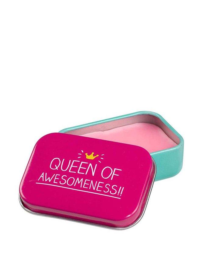 Balzám na rty s vůní jahod v barevné krabičce Happy Jackson Queen of Awesomeness