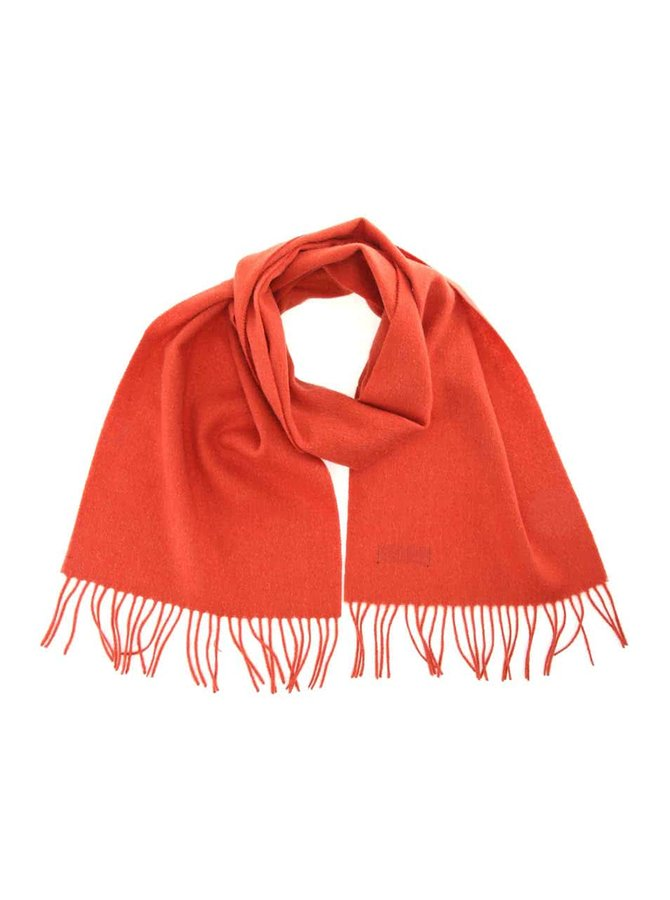 Oranžová pánská vlněná šála Portia