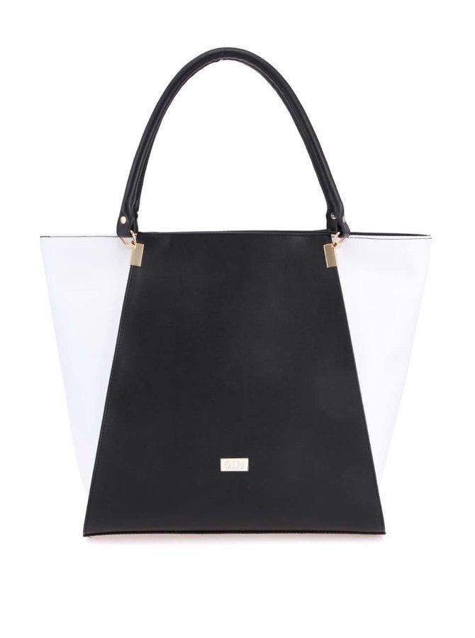 Černo-bílá kabelka OJJU