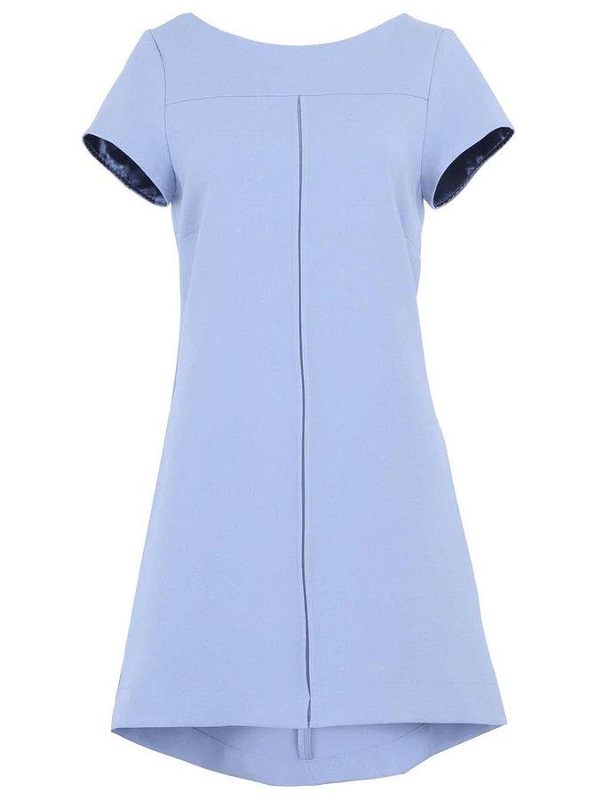 Světle modré volnější šaty Closet