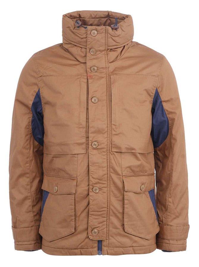 Jachetă bărbătească de iarnă maro Blend