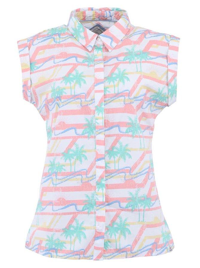 Barevná dámská košile bez rukávů Bellfield Bijema