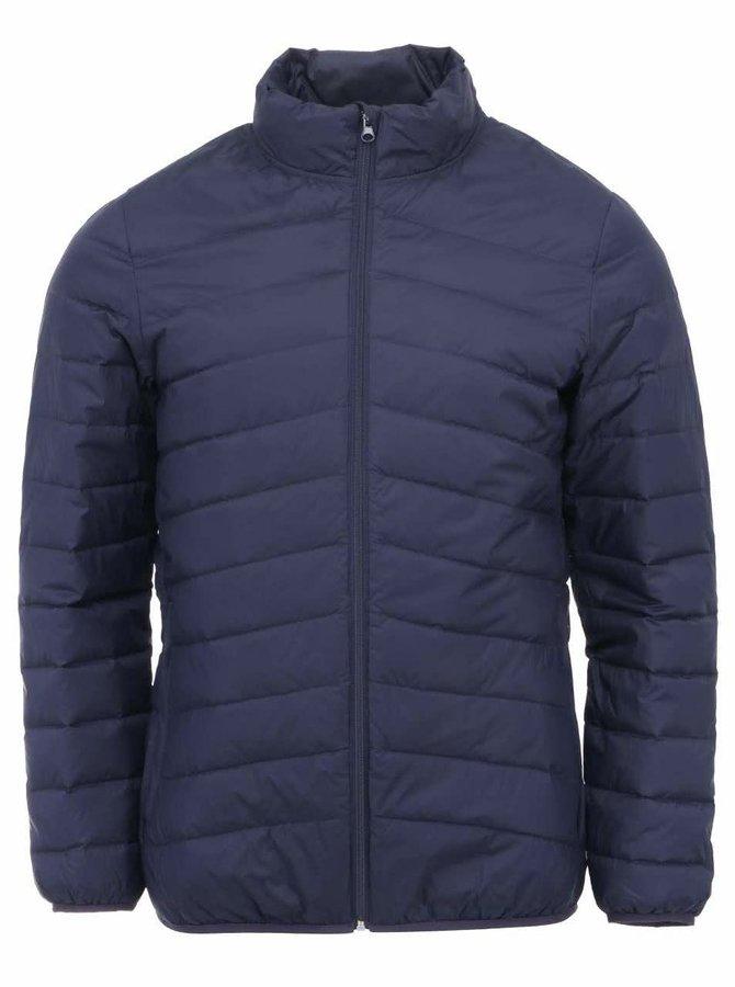 Jachetă Selected Drift cu puf - bleumarin
