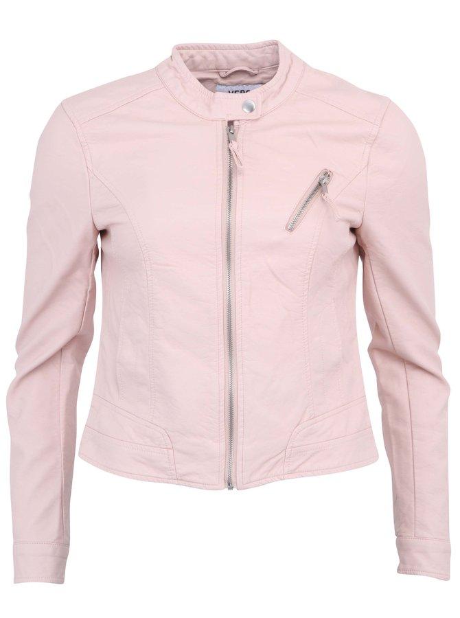 Jachetă roz pal VERO MODA Irina