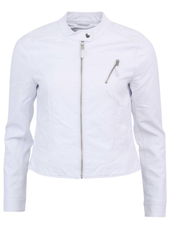 Bílá koženková bunda VERO MODA Irina