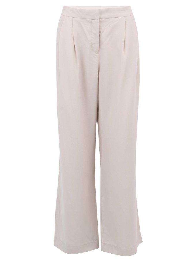 Béžové široké kalhoty Vero Moda Sailor