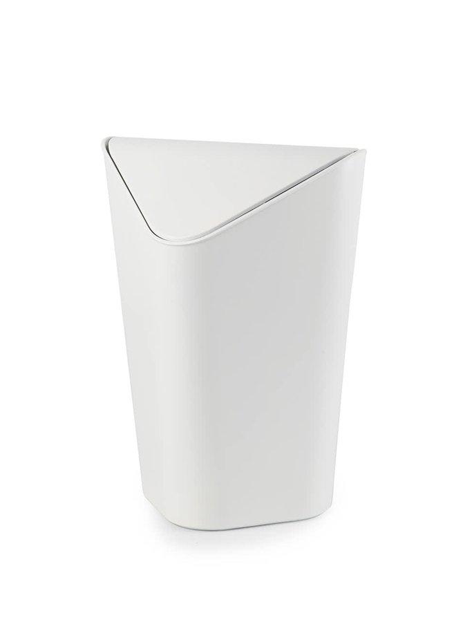 Biely rohový odpadkový kôš Umbra