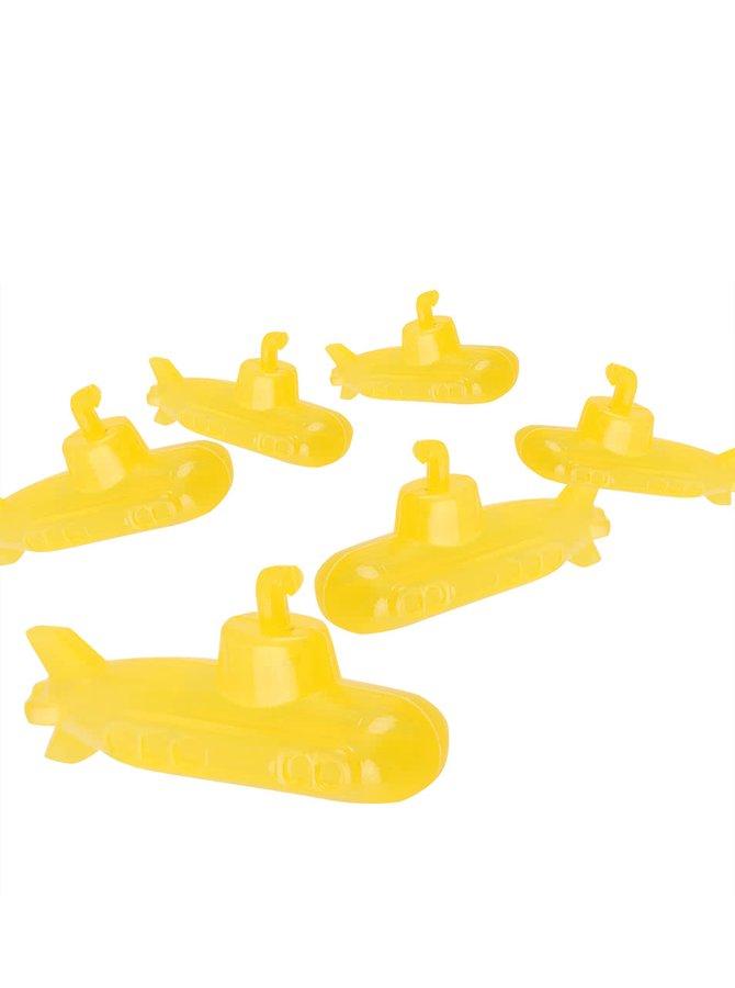 Set 6 chladicích kostek do nápoje ve tvaru ponorky Kikkerland