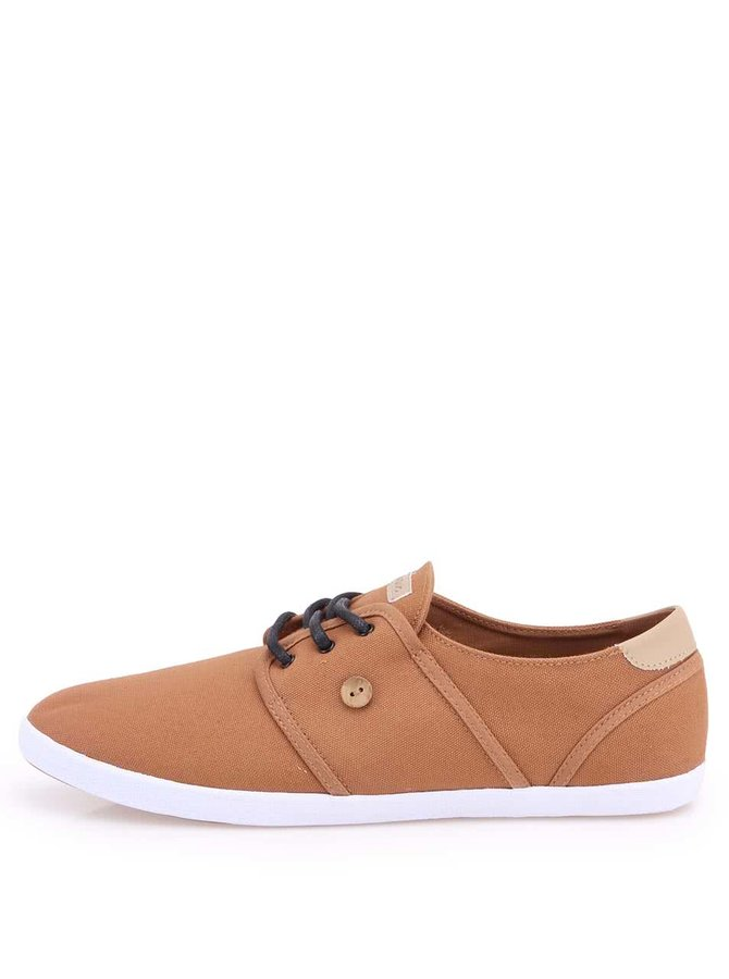 Pantofi sport din pânză Faguo Cypress - Maro