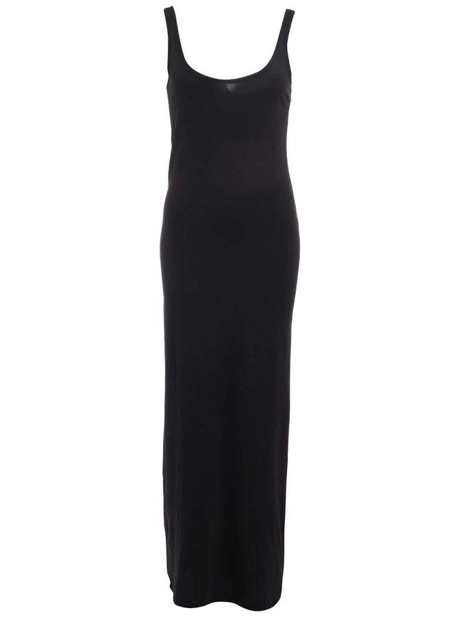 Černé dlouhé šaty Vero Moda Nanna