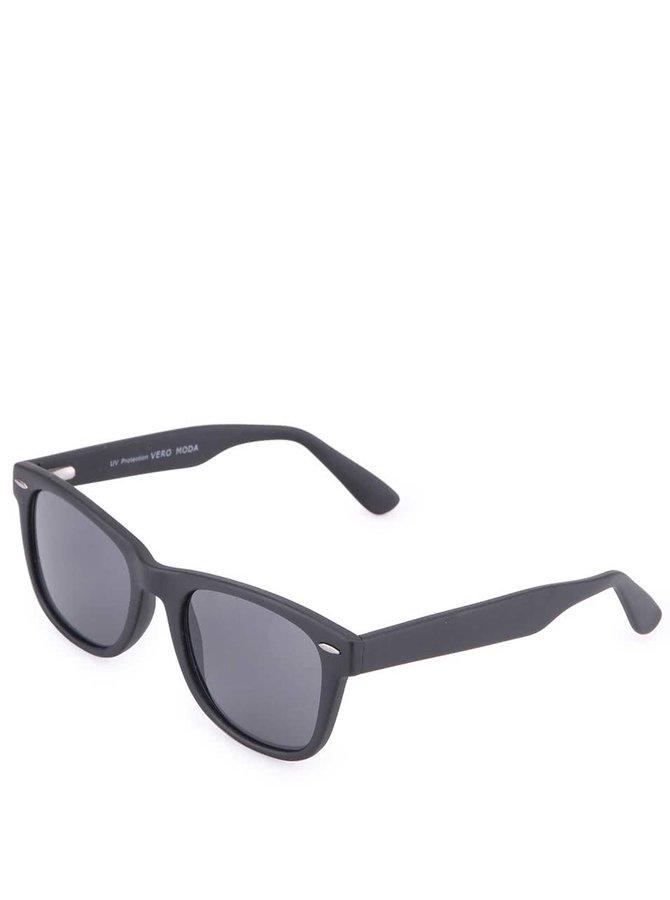 Černé matné sluneční brýle Vero Moda Phantom
