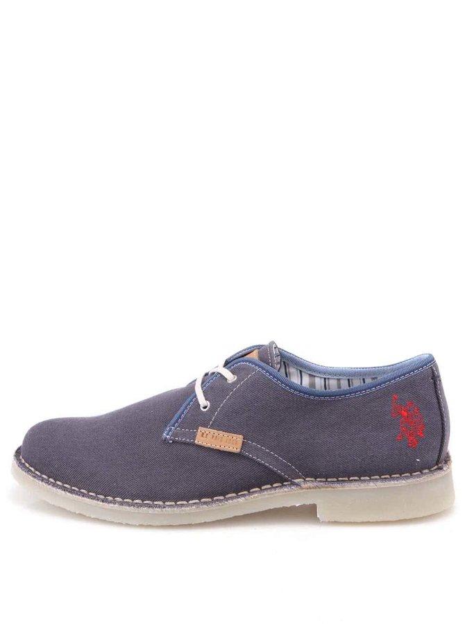 U.S. Polo Assn. Pantofi bărbătești albaștri de la Gabry