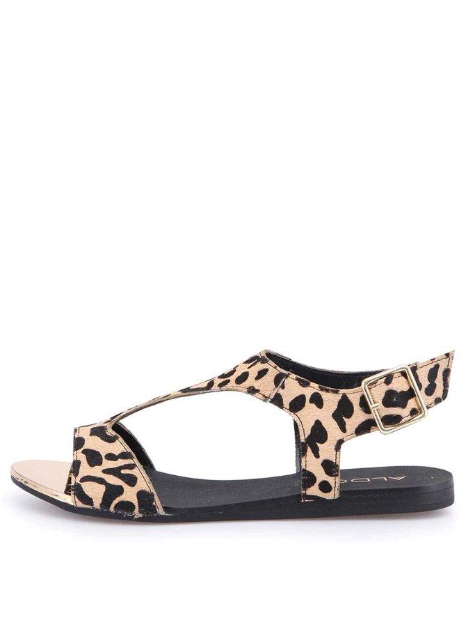 Sandale ALDO Tassie cu imprimeu de leopard