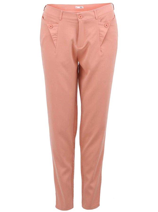 Pantaloni drepți pentru femei Lavand - roz