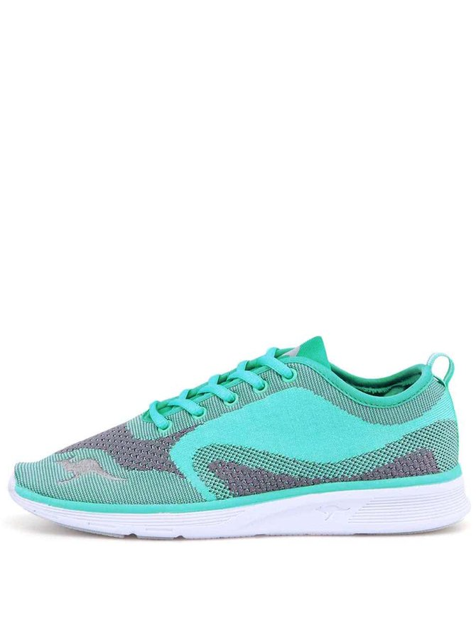Pantofi sport de damă K-Light KangaROOS - turcoaz și gri