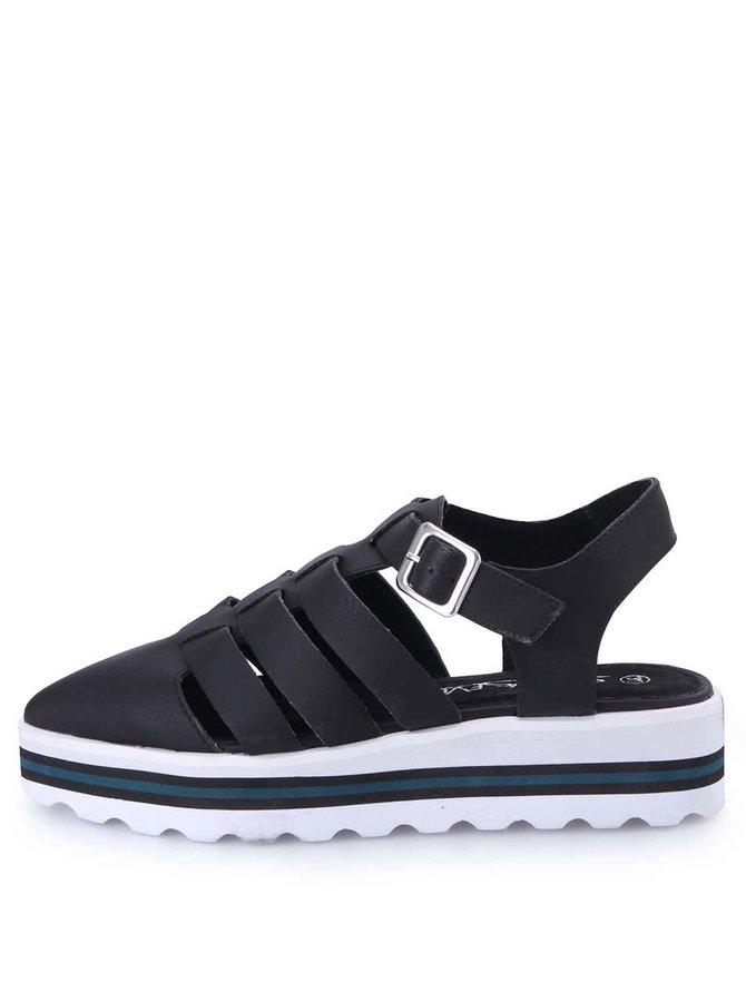 Pantofi cu platformă Sixtyseven - negru