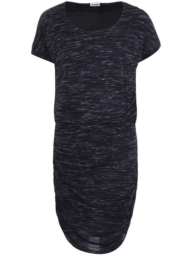 Rochie cu mânecă scurtă, neagră, cu imprimeu, de la Noisy May Jimmy