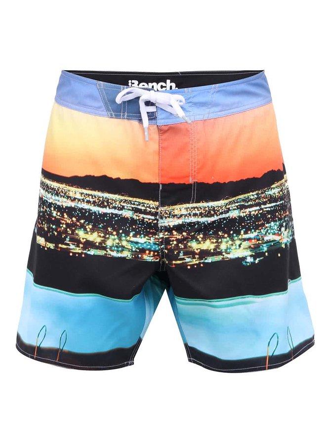Farebné pánske plavky s potlačou Bench Sitysun