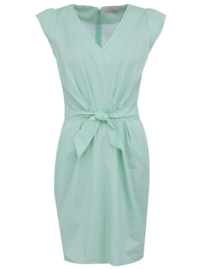 Rochie verde de la Trollied Dolly Take The Plunge