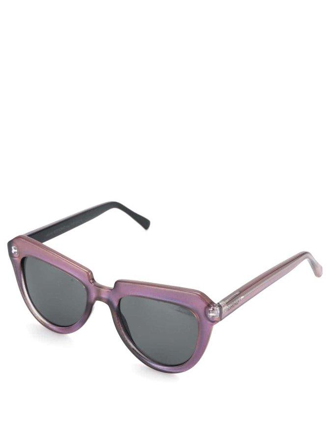Fialové dámské sluneční brýle Komono Stella