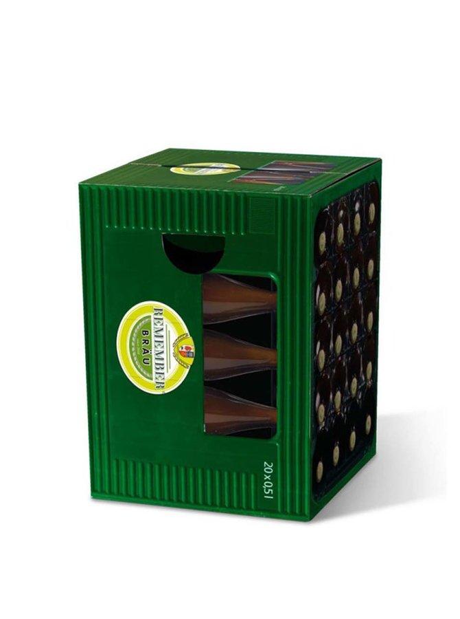 Skladacia stolička pre milovníkov piva Remember Braumeister