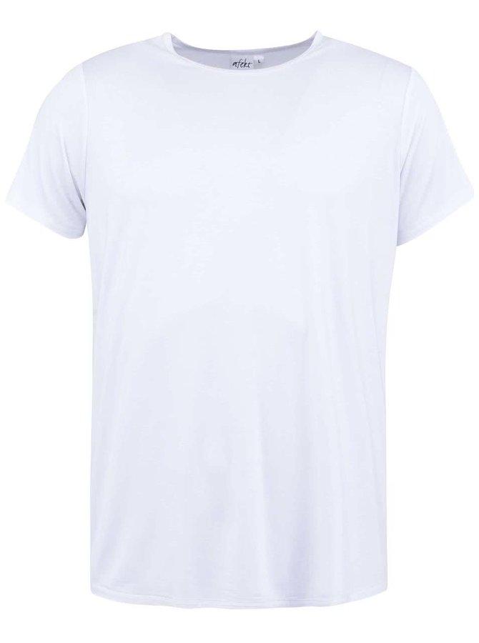 Bílé bambusové triko pod košili Bambutik Slim