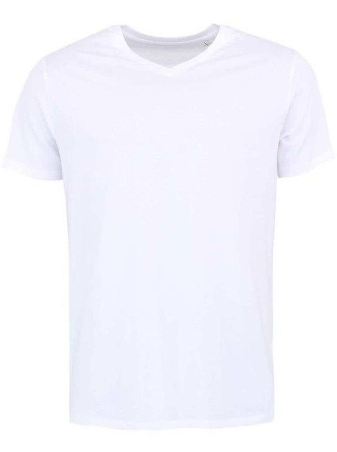 Tricou bărbătesc Stanley & Stella Expects - alb strălucitor