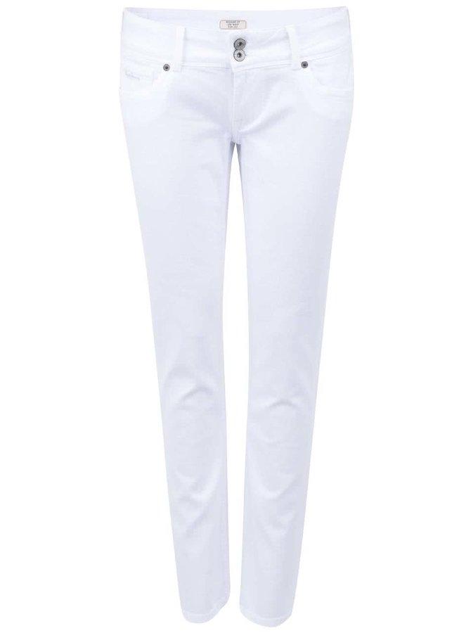 Jeanși albi de damă Pepe Jeans Vera