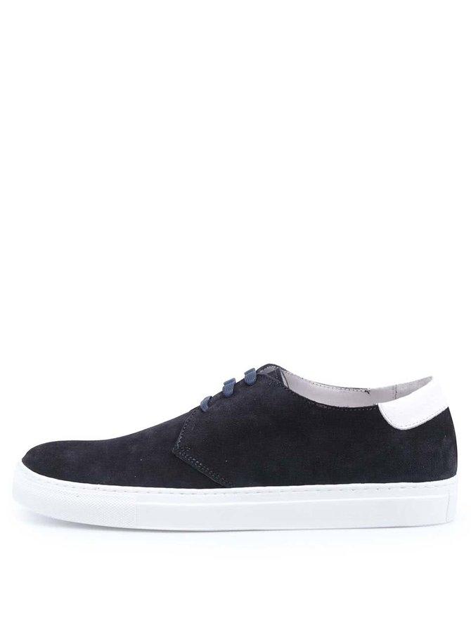 Tmavě modré kožené tenisky J.Lindenberg Lanced Sneaker