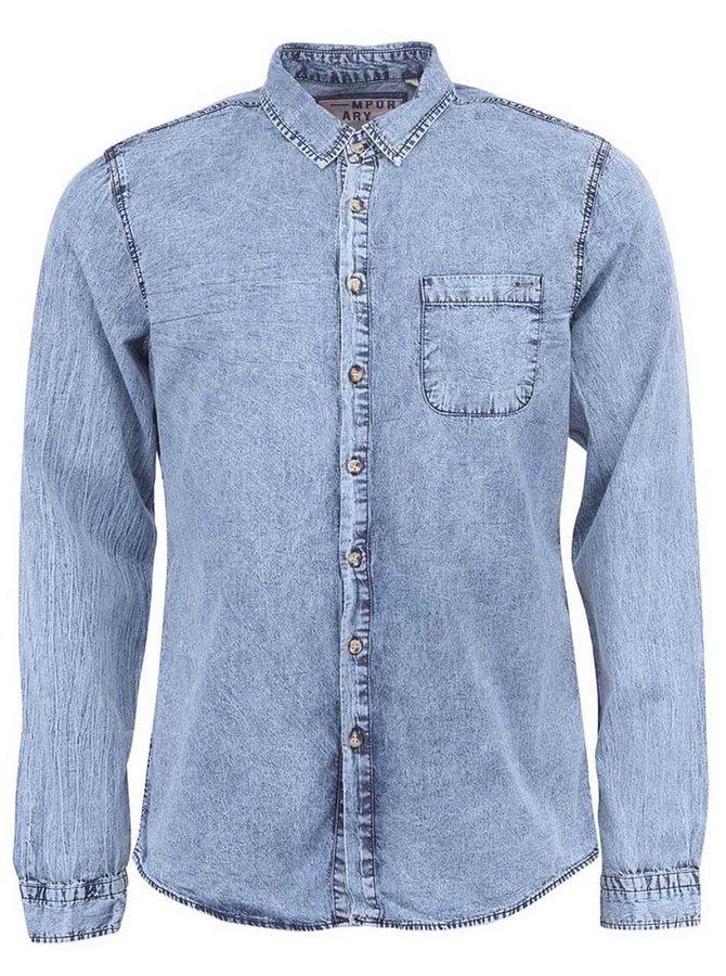 Modrá plísňová džínová košile !Solid
