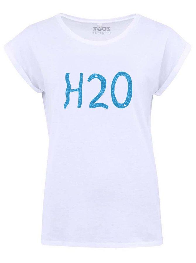 Bílé dámské tričko ZOOT Originál H2O