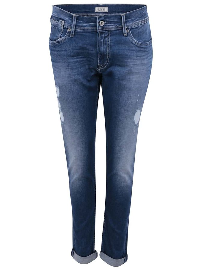 Modré dámske rifle Pepe Jeans Joey