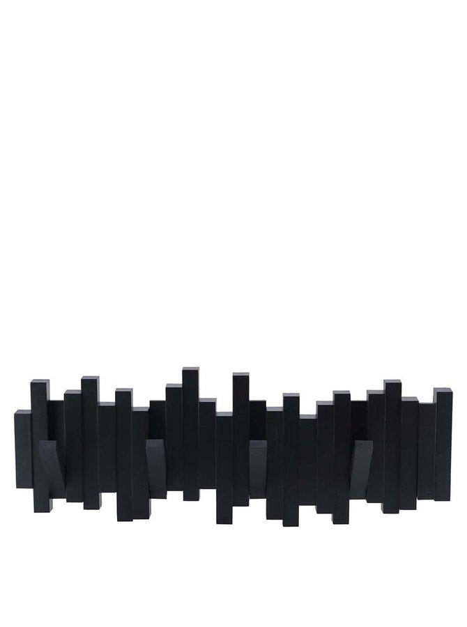 Černý vyklápěcí věšák Umbra Sticks