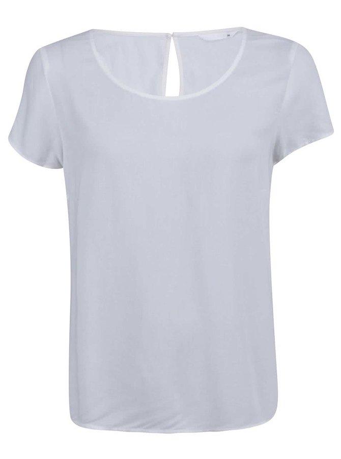 Krémové volnější tričko ONLY Geggo