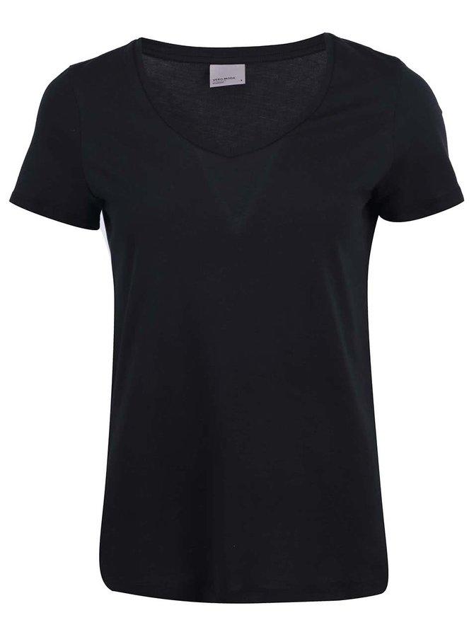 Čierne tričko Vero Moda Molly