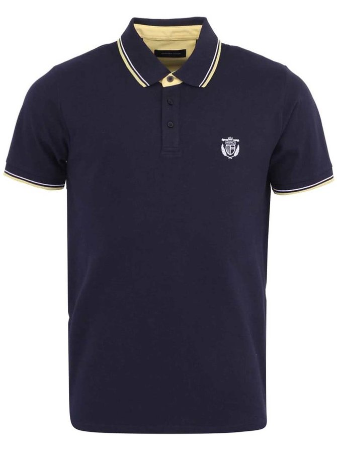 Selected Season Navy Polo Shirt