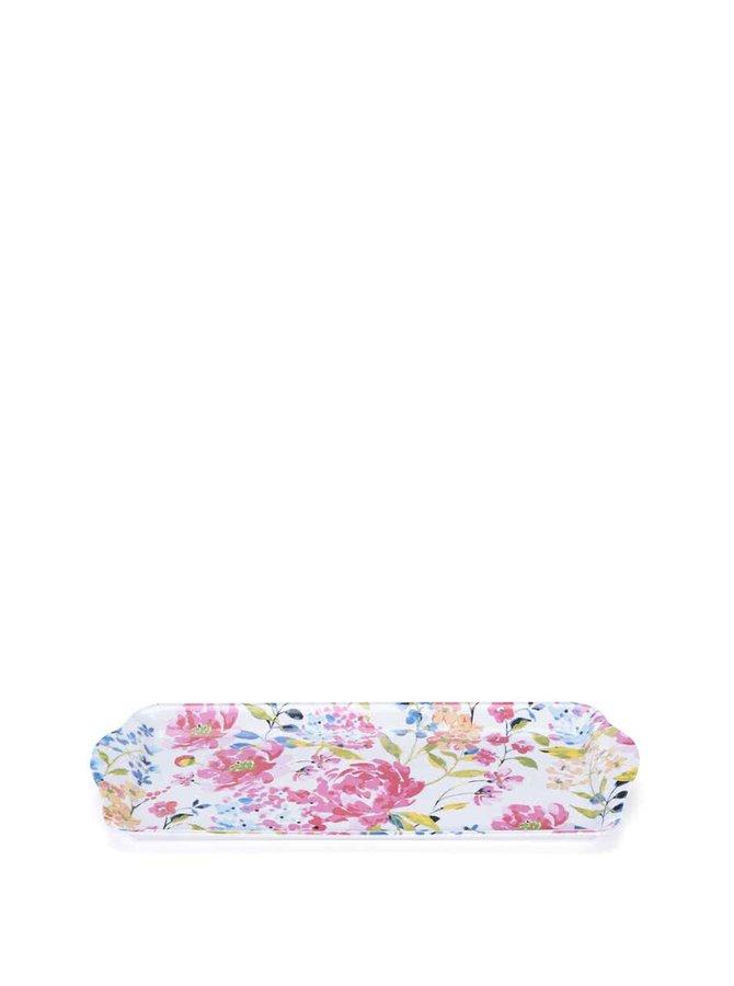 Květovaný menší tác Cooksmart Floral Romance