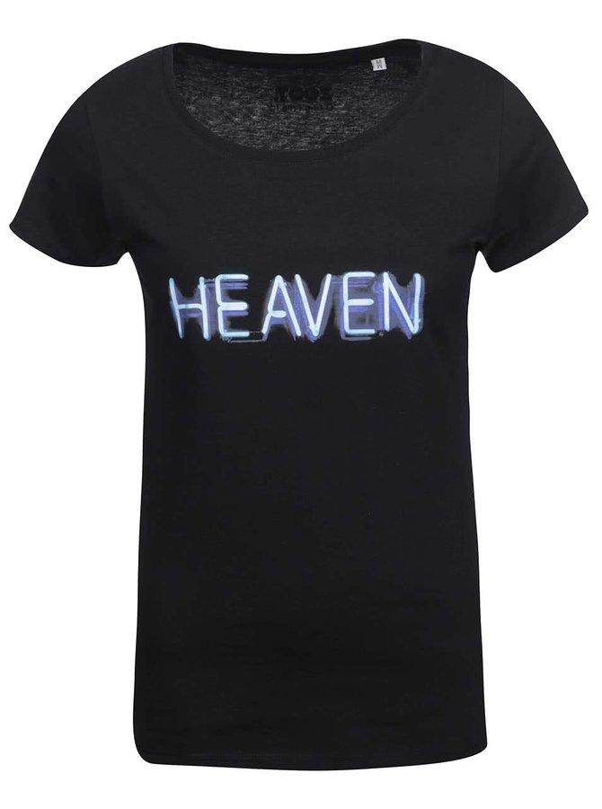 Čierne dámske tričko ZOOT Originál Heaven