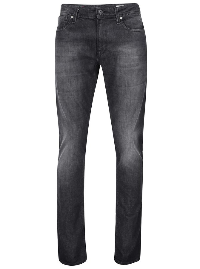 Blugi skinny negri Selected Homme Two Mario