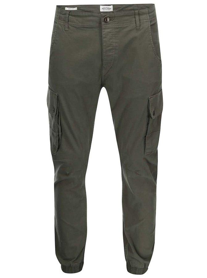 Pantaloni Combat Jack & Jones Paul - Verde închis