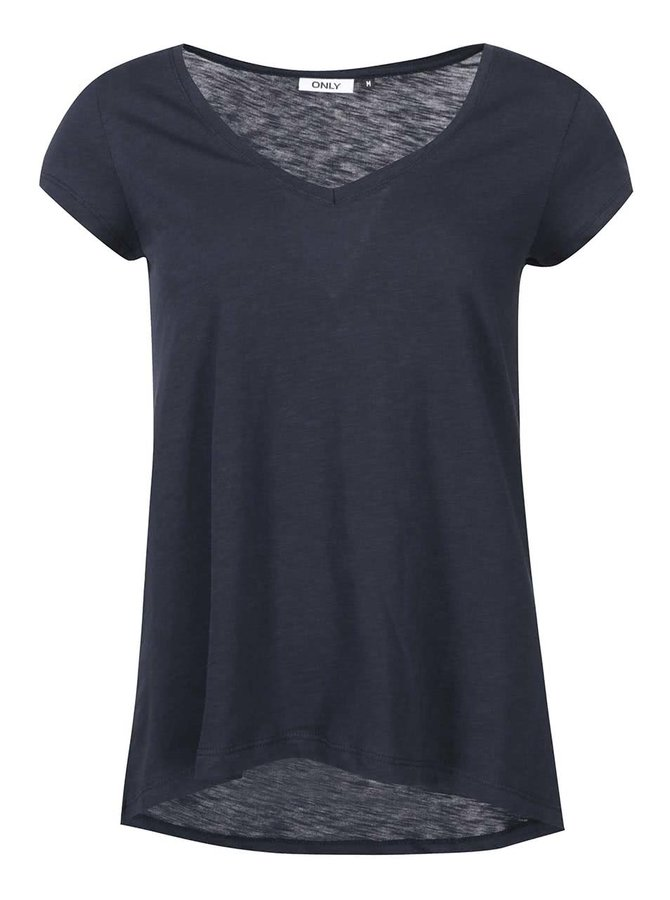 Tricou lejer ONLY Gold - navy