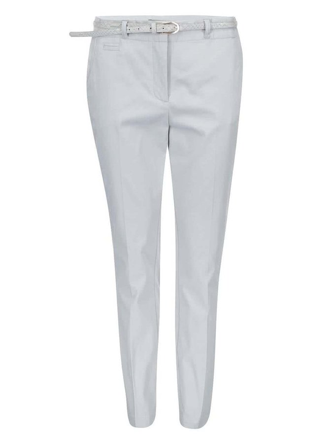 Světle šedé kalhoty VERO MODA Roos