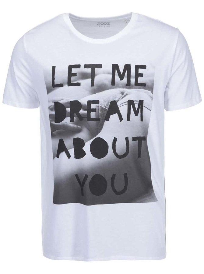 Bílé pánské triko ZOOT Originál Let Me Dream