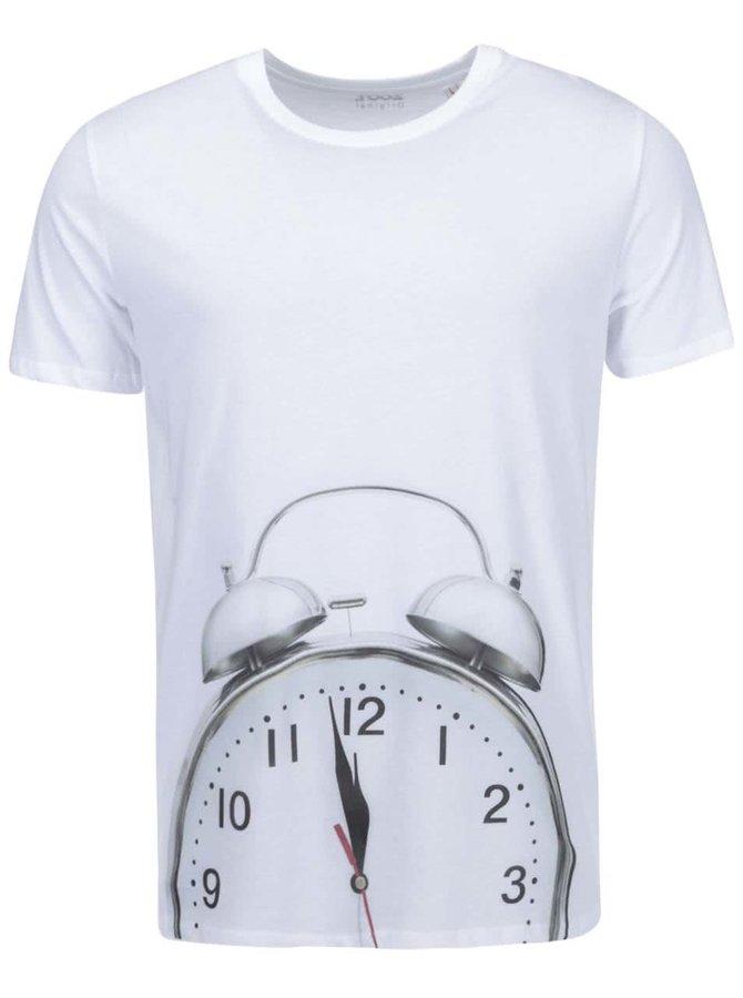 Tricou bărbătesc ZOOT Original Alarm Clock alb