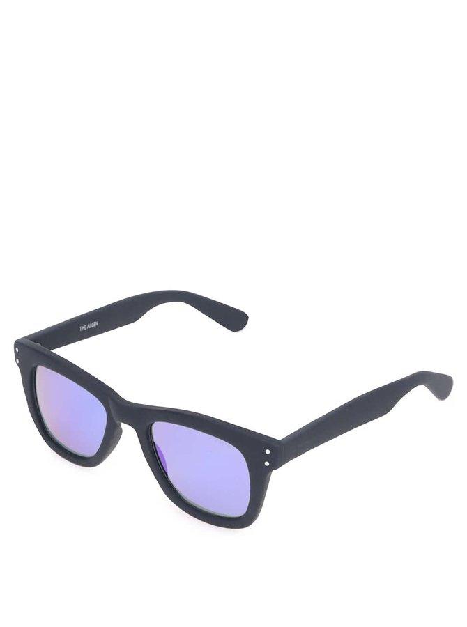 Ochelari de soare unisex Komono Allen cu ramă albastră
