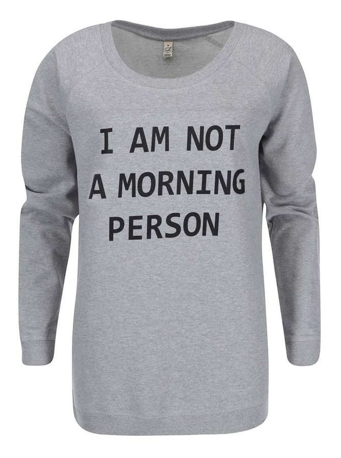 Hanorac ZOOT Original Morning Person pentru femei