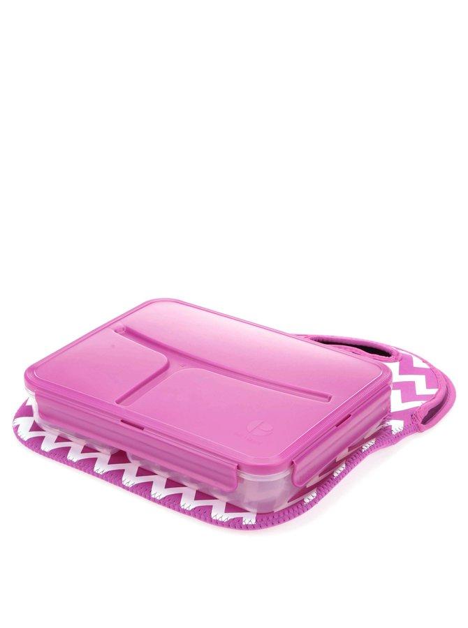 Cutie pentru prânz violet Prêt à Paquet
