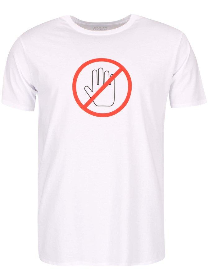 Bílé pánské triko ZOOT Originál Nedotýkat se