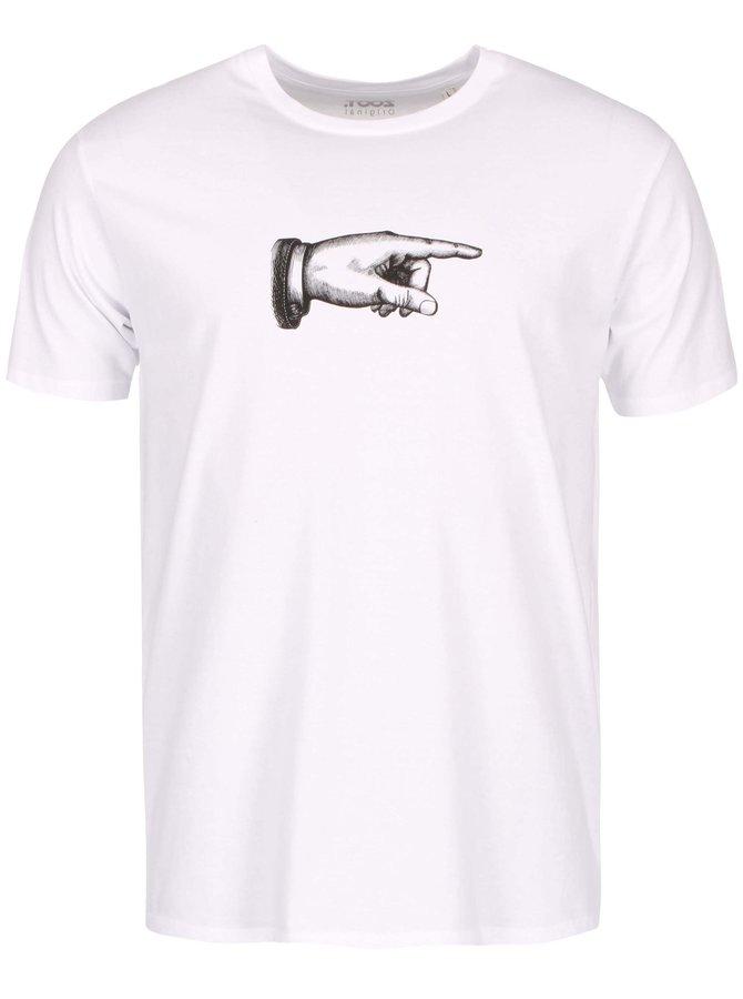 Tricou bărbătesc ZOOT Original There alb