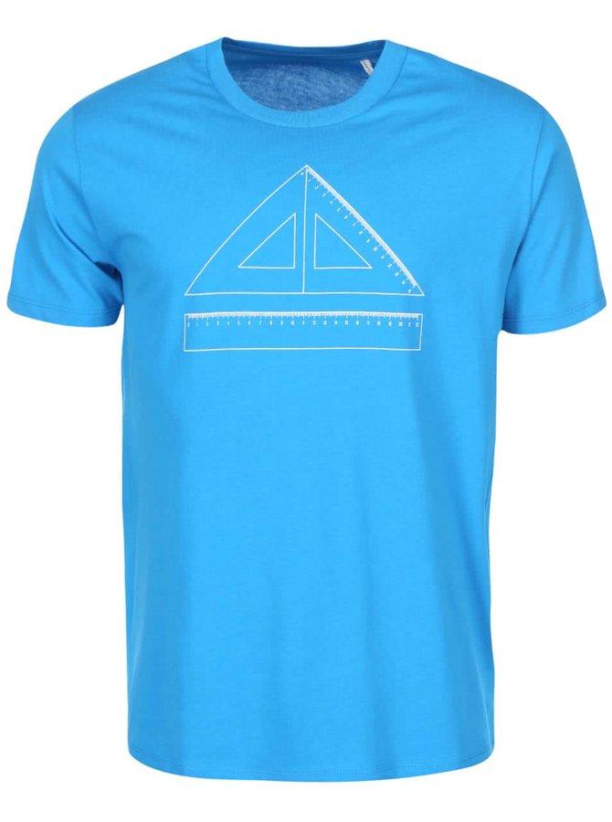 Modré pánské triko ZOOT Originál Pravítko